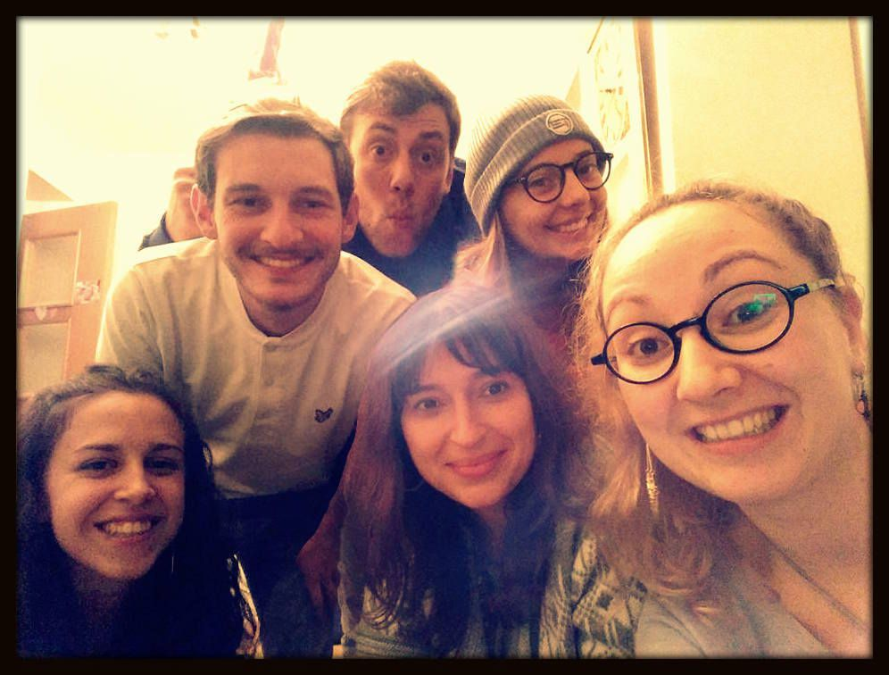 Lucia, Adrien, Guillaume, Alexandra, Yo, Marion