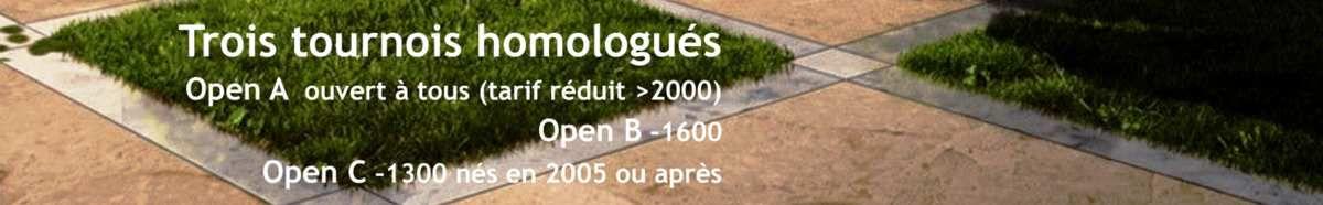 Du 29 octobre au 1er novembre, l'open de La Bresse
