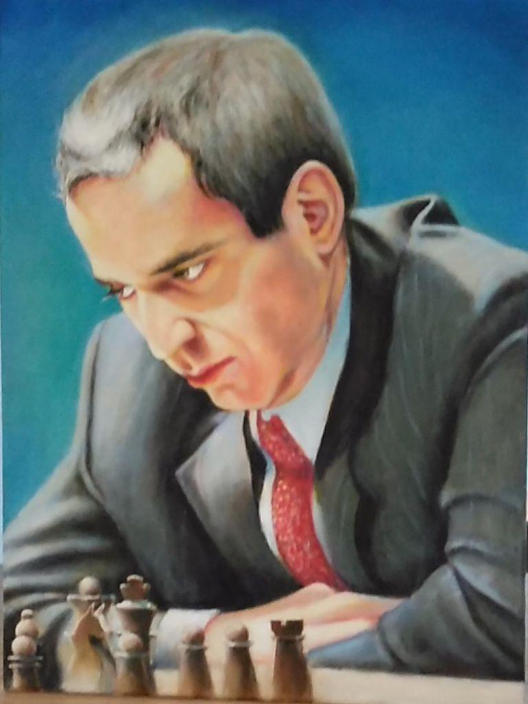Garry Kasparov par TomaszGrzelczyk