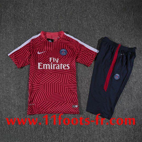 Nouveaux T Shirt PSG 2016-17 Rouge Impression Pas Cher