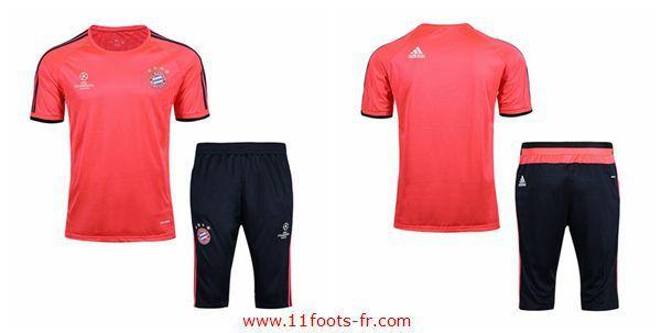 Nouveaux T-Shirt Bayern Munich Foot 2016-17 Rose