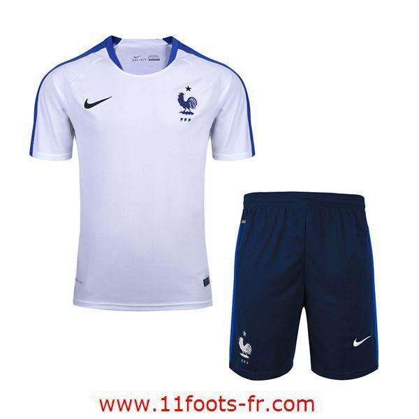 Boutique France T-Shirt de Foot 2016 17 Blanc
