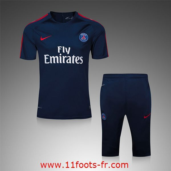 Boutique PSG Tee Shirts Foot 2016 17 Bleu Marine