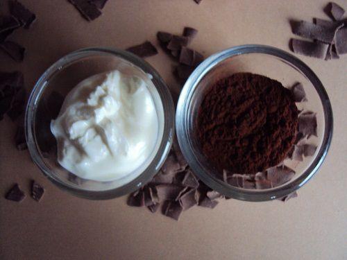 Masque anti-oxydant au chocolat