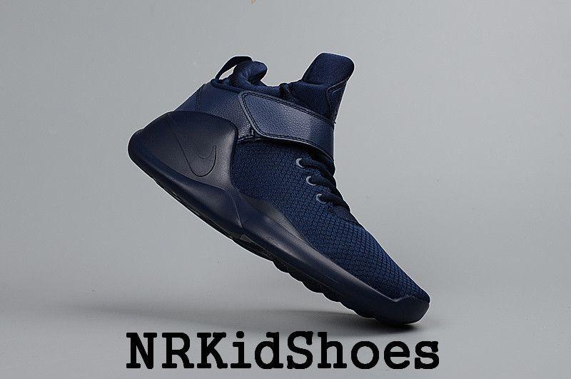 new product 90406 e96ba Nike Kwazi - Boys Grade School Basketball Shoes(Deep Blue)