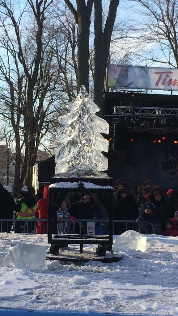 spectacle : le sculpteur sur glace le plus rapide au monde !!!