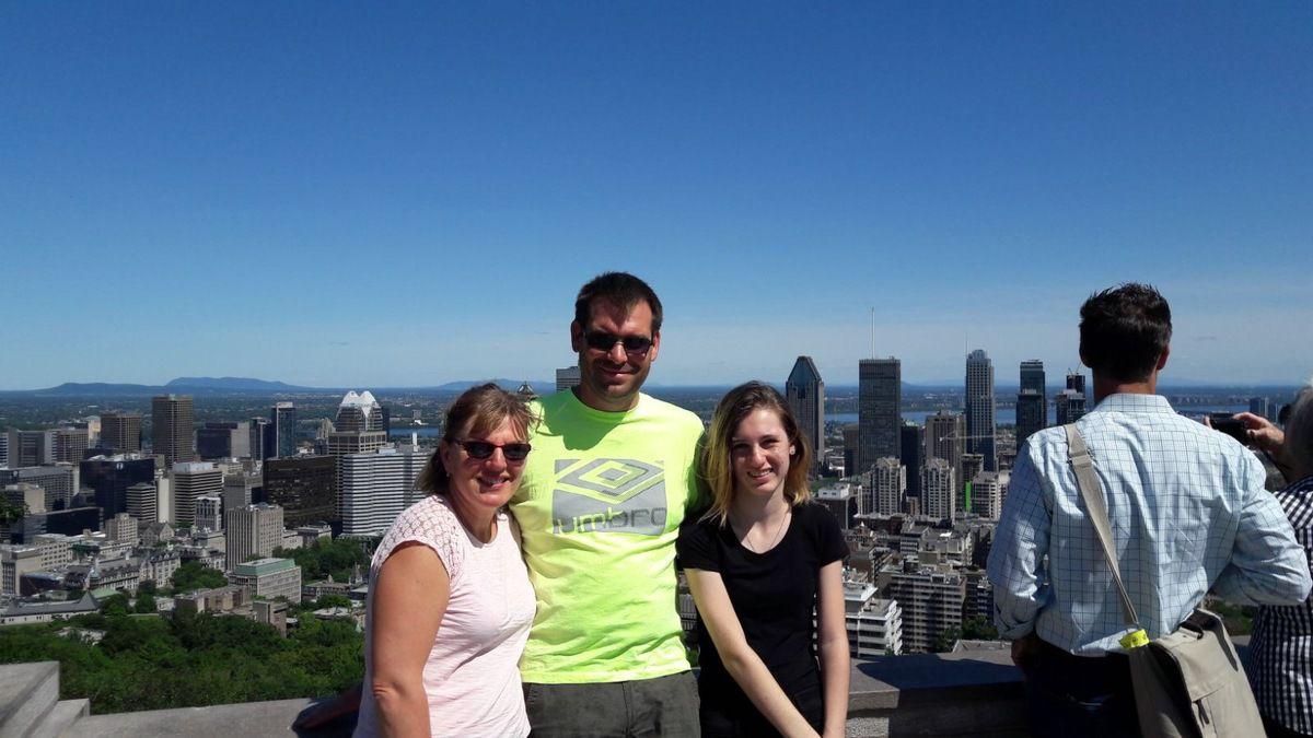 Visite au Mont Royal