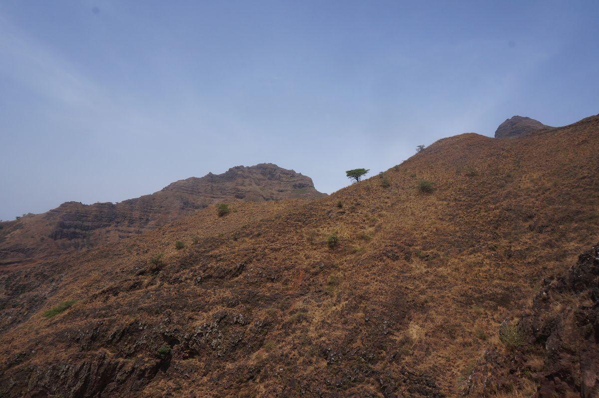 Tomy et Lucia sont partis dernièrement en week-end pour grimper le Pico, sommet de l'île de Santiago. On poste quelques photos, mais les températures matinales, un peu trop élevées au goût de Lucia, ont freiné son entrain ! Sommet non atteint, mais une belle balade tout de même.