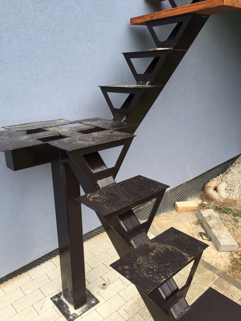 faire son escalier tout seul ou presque escalier diy. Black Bedroom Furniture Sets. Home Design Ideas