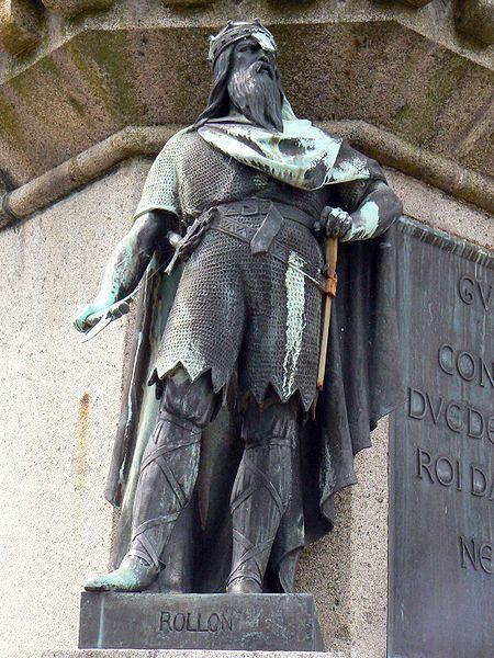 Statue de Rollon à Falaise ( France)_ro