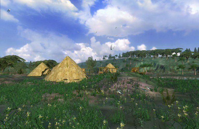 Les huttes des chasseurs du Doggerland