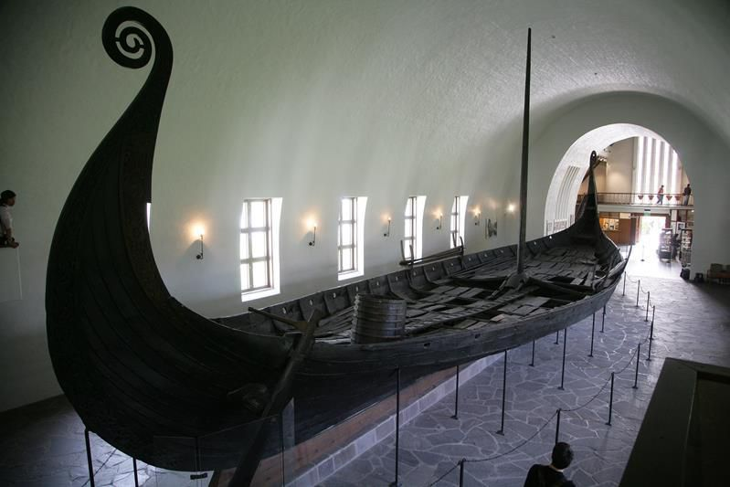Longboat au Musée d'Oslo