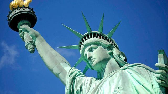 La statue de la Liberté par Frédéric-Auguste Bartholdi