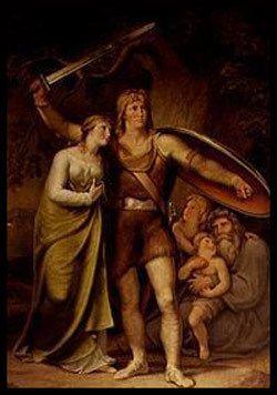Arminius et Thusnelda