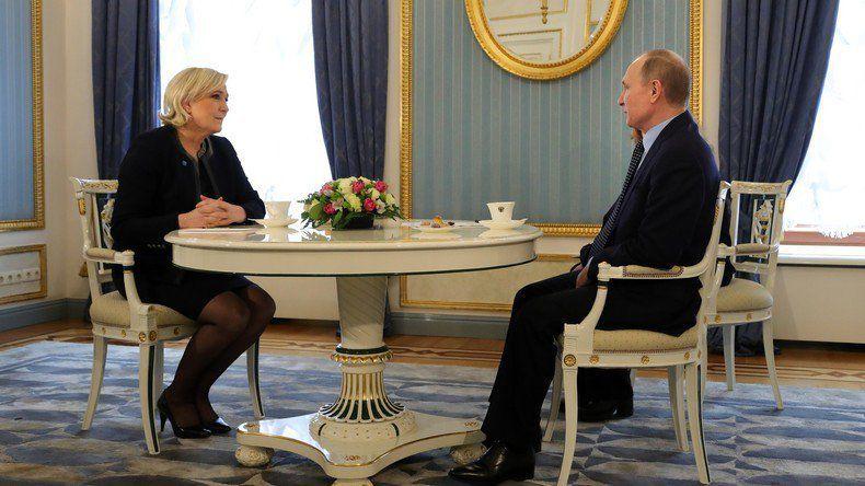 Résistance des Peuples : Marine Le Pen et Vladimir Poutine