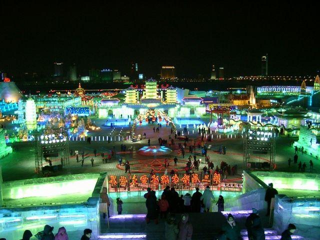 Le festival international de glace et de neige
