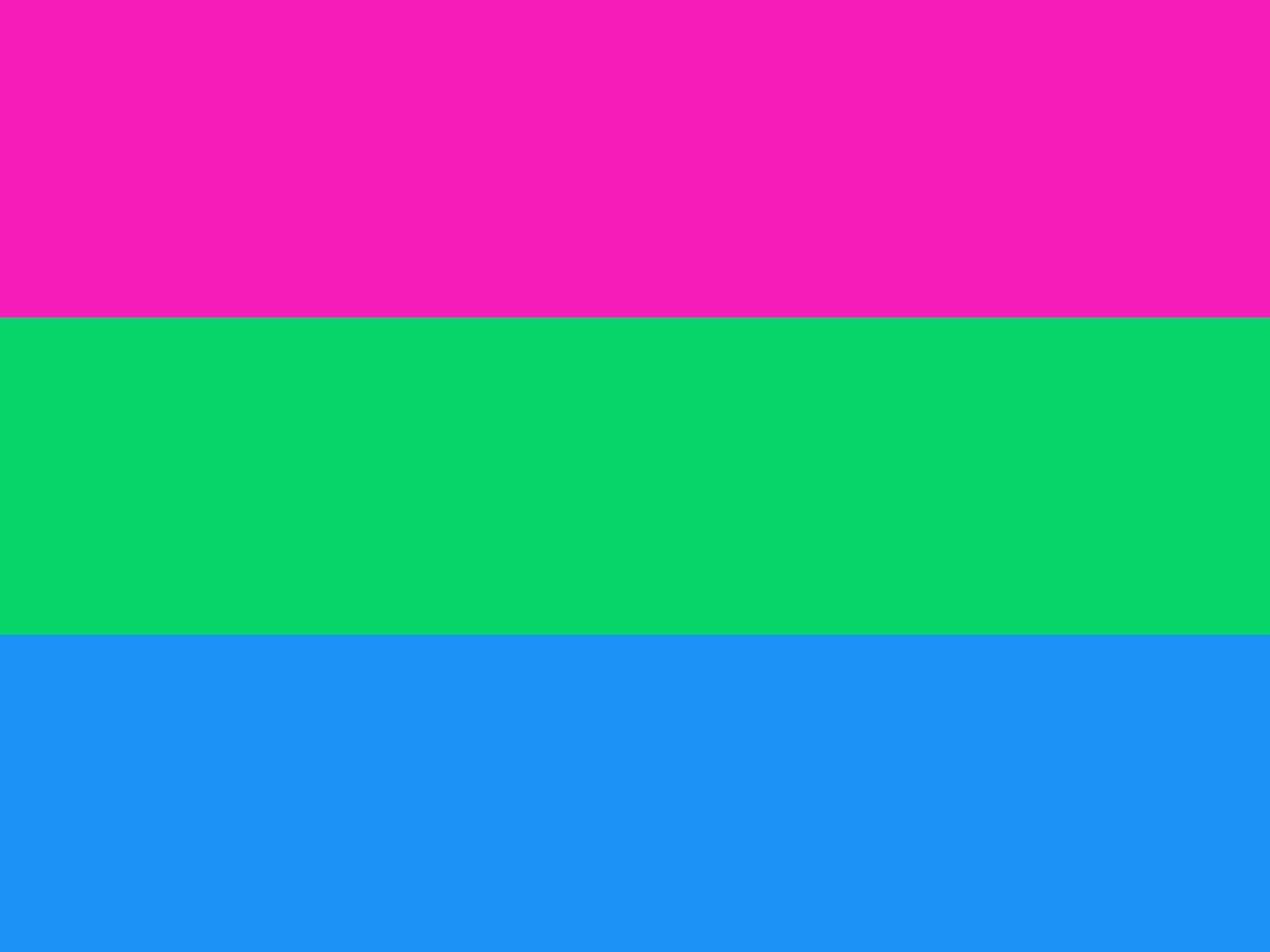 Le drapeau polysexuel