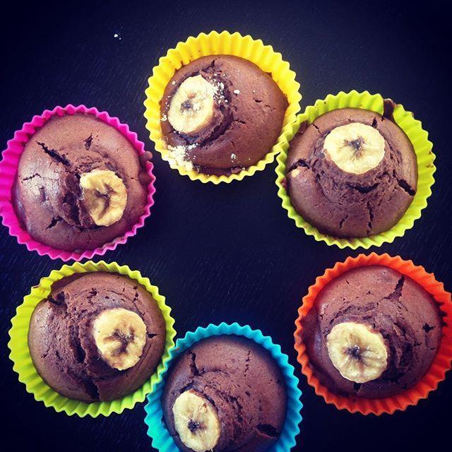 Recette gourmande : Les muffins chocolat banane