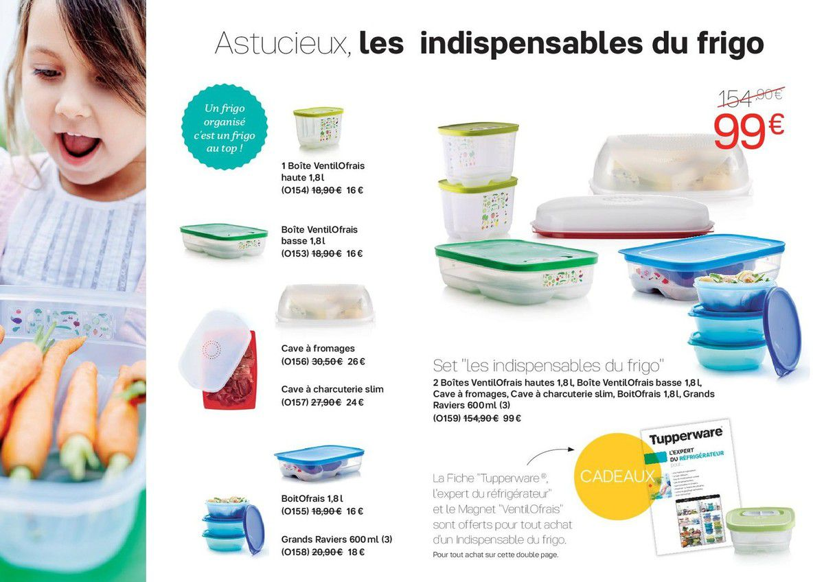 mini catalogue promotions tupperware octobre 2017