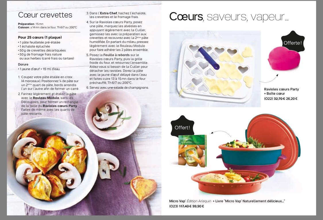 Mini catalogue promotions tupperware fevrier 2017