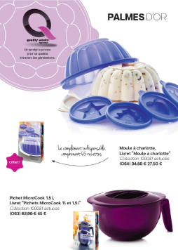 Mini catalogue promotions tupperware mai 2017