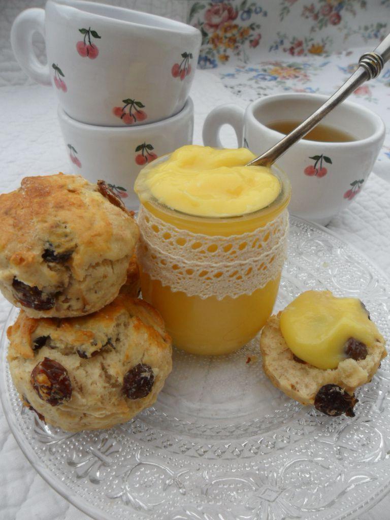 Tea Time ! scones &amp&#x3B; lemon curd