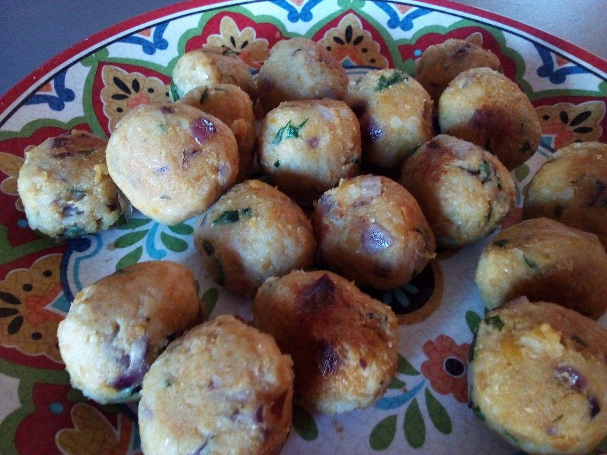Falafels aux pois chiches et boulghour