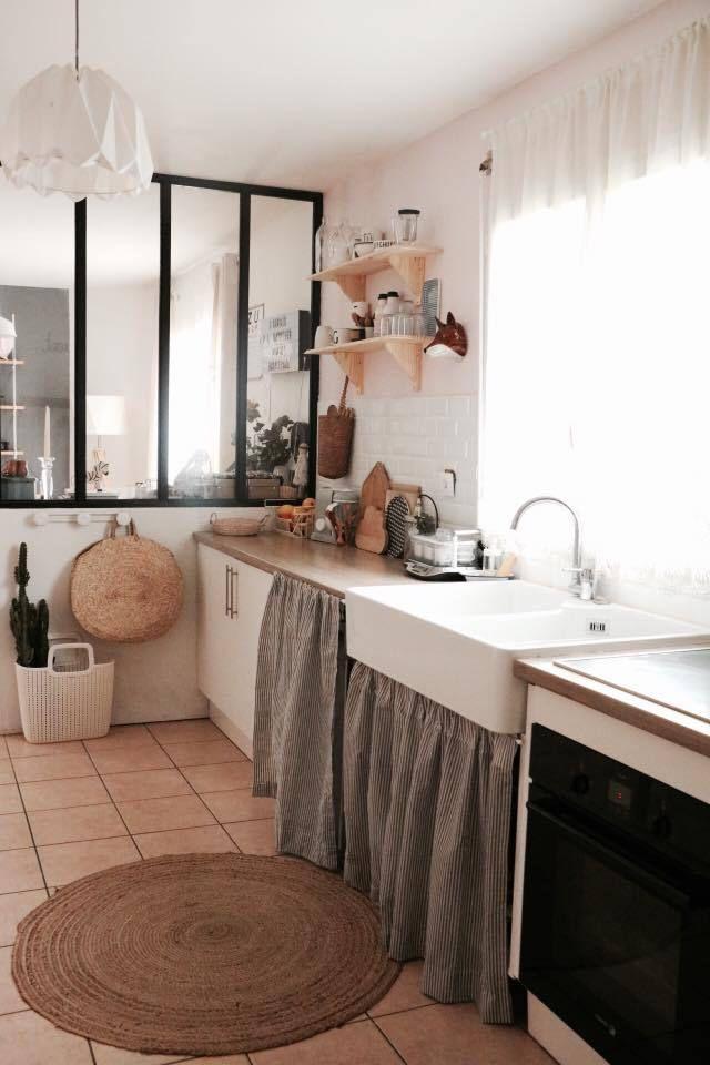 Vous reprendrez bien un peu déco : Notre cuisine rose...