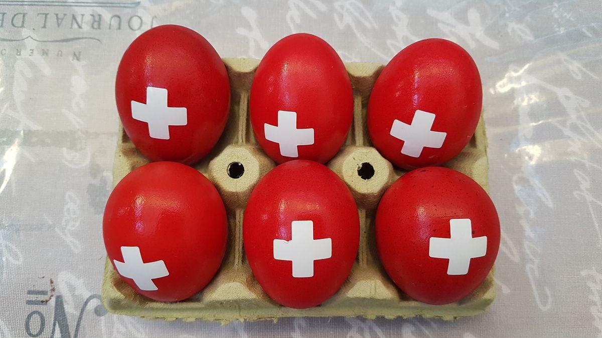 oui, c'est bien des oeufs suisses!