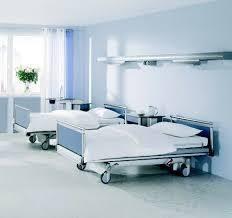 Dans une chambre d'hopital