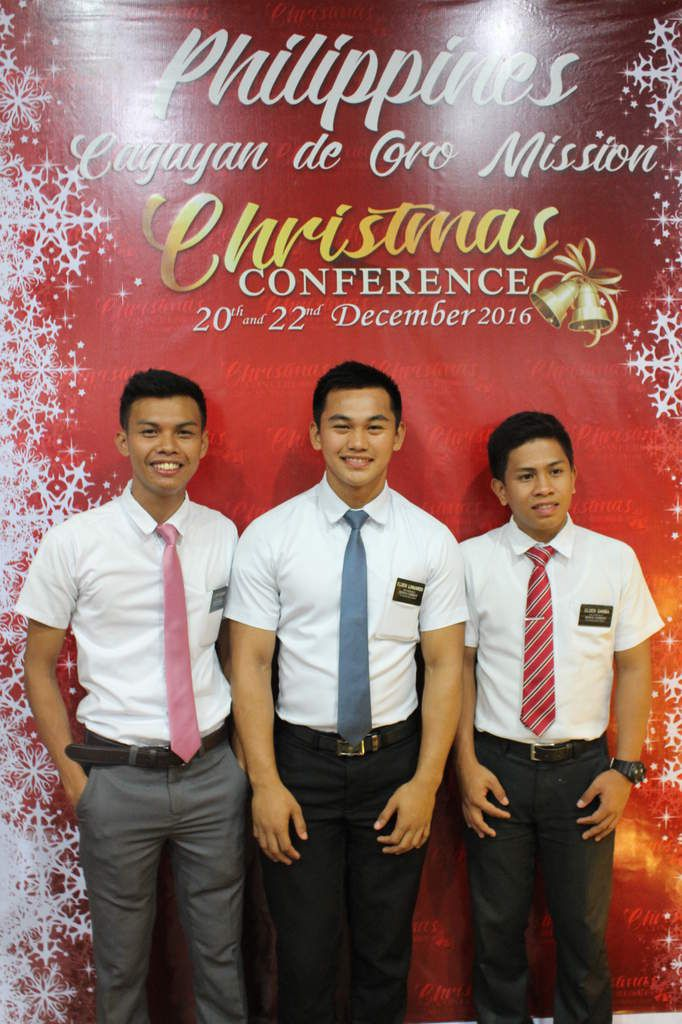 these photo were taken during our Christmas Conference