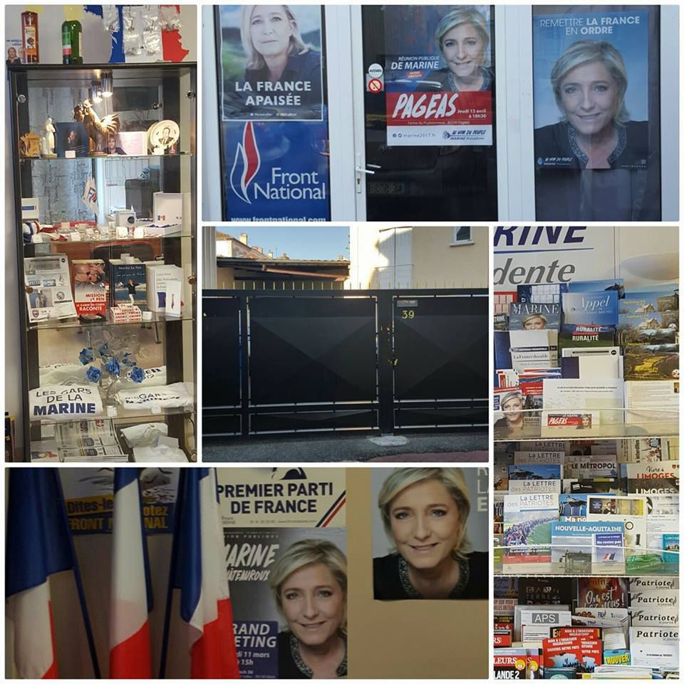 La fédération du Front National 87