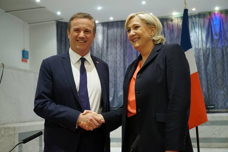 Marine Le Pen - Nicolas Dupont Aignan