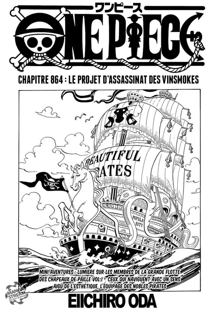 Scan One Piece 864 : Chapitre FR