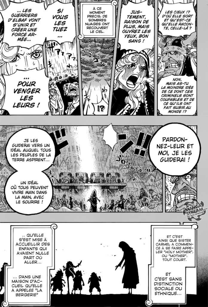 Scan ONE PIECE 866 : Chapitre FR