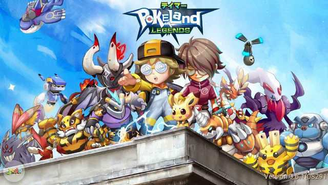 Cheat: Pokeland Legends Triche Astuce - Android / iOS