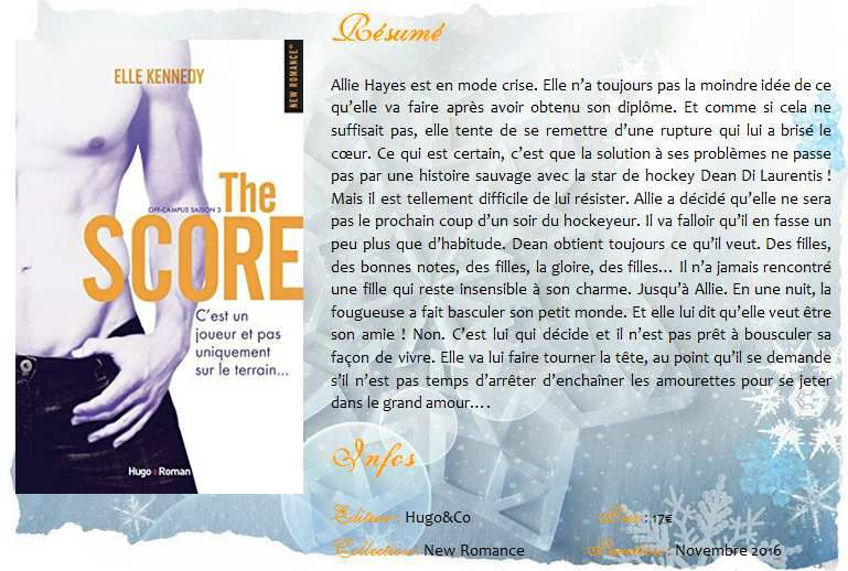 The Score (#3 Off Campus) d'Elle Kennedy