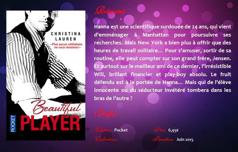 Beautiful Player (Beautiful Bastard #3) de Christina Lauren