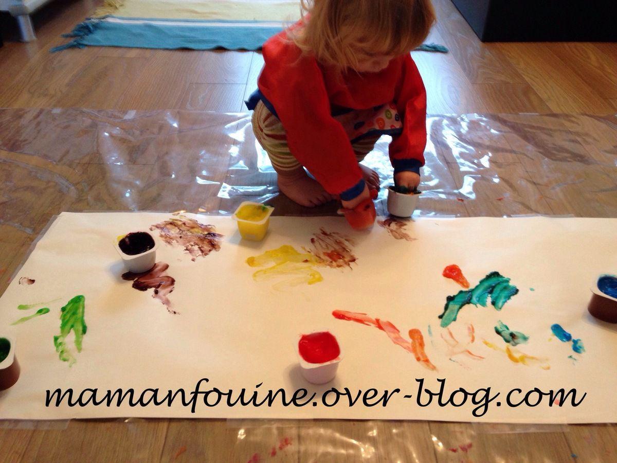 DIY : Peinture à doigts
