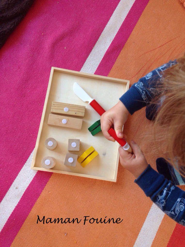 DIY : Blocs de bois et velcros