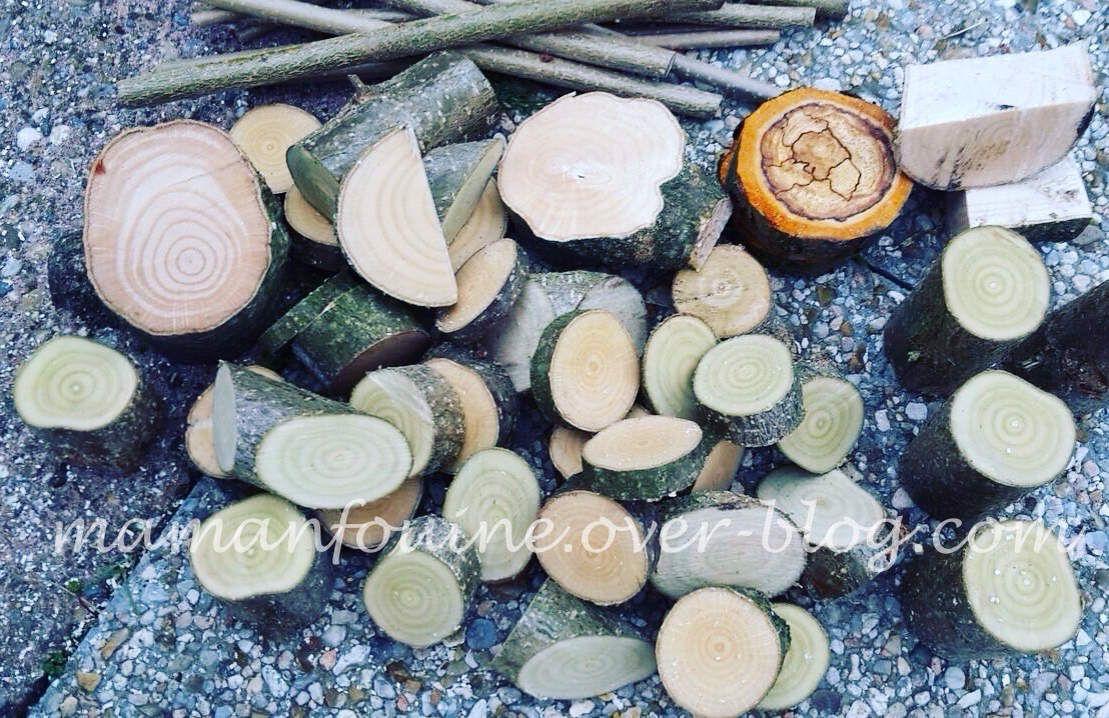 DIY : Nos rondins de bois
