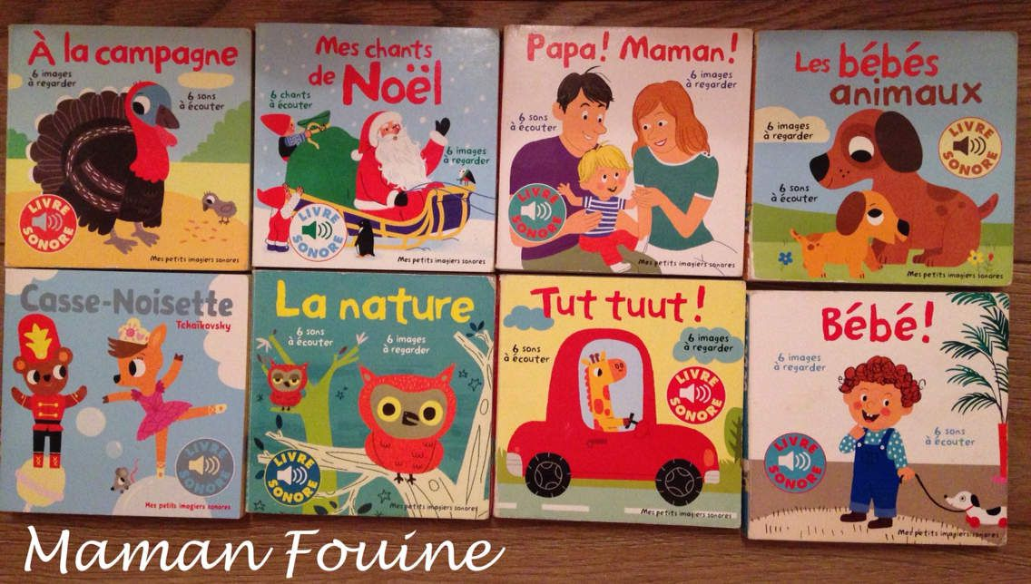Mes Petits Imagiers Sonores Aux Editions Gallimard Jeunesse