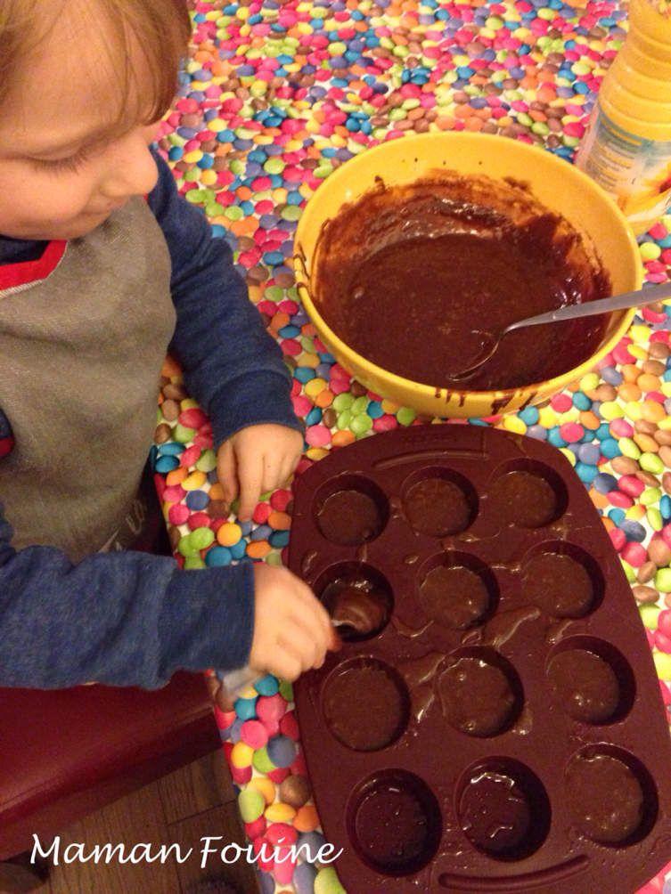 Cuisinons ensemble : Les fondants au chocolat