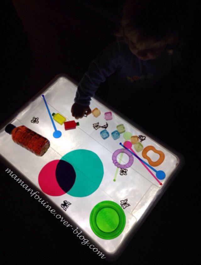DIY : Table lumineuse