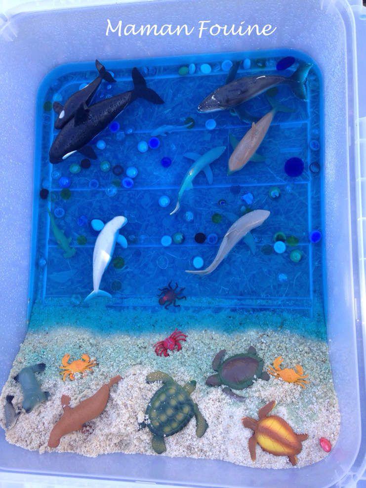 Mini-monde : la mer