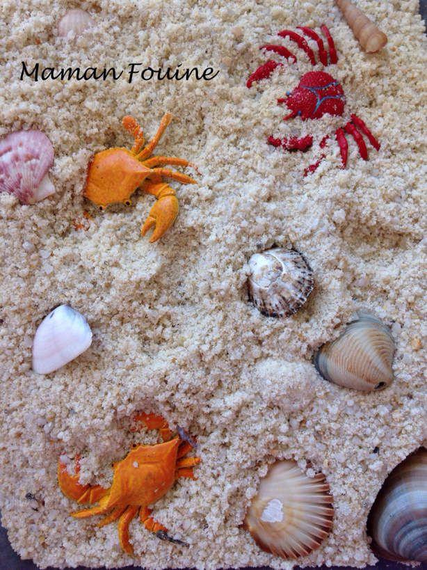 Bac sensoriel : les crabes