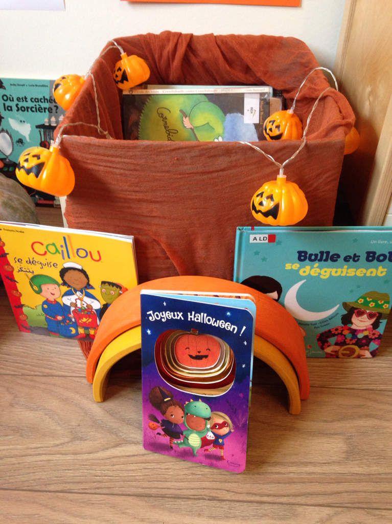 Sélection de livres autour d'Halloween