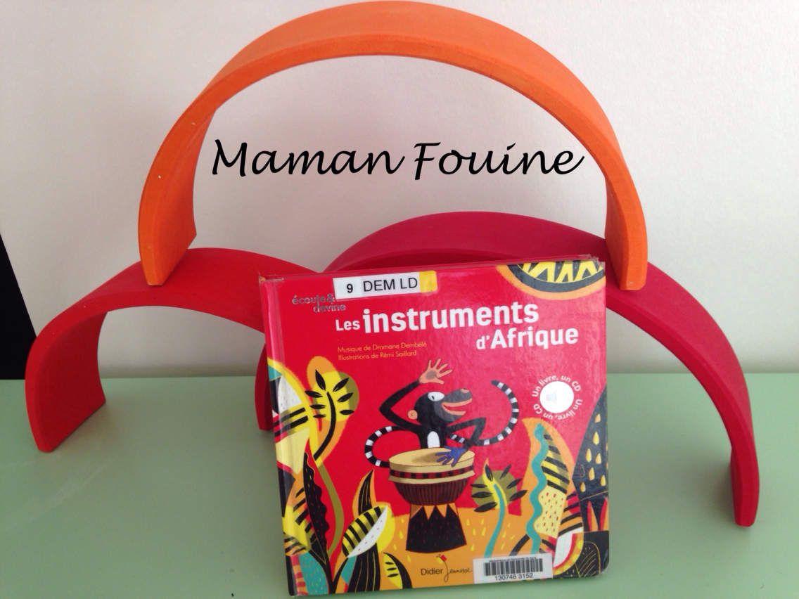 Livre-CD : Les instruments d'Afrique