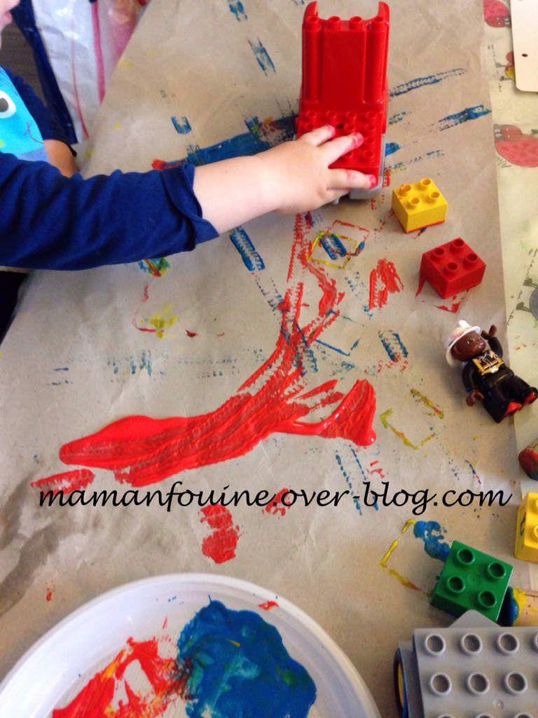 Peinture au Lego