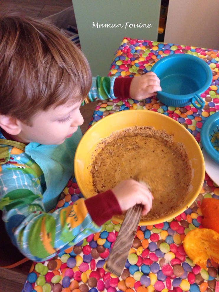 Cuisinons ensemble : Cake choco-orange
